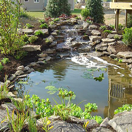 Pond Construction - Water Landscaping - Nebraska